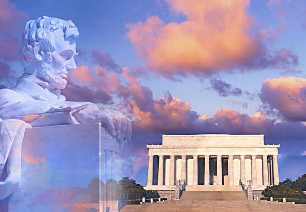 Lincoln Memorial montage